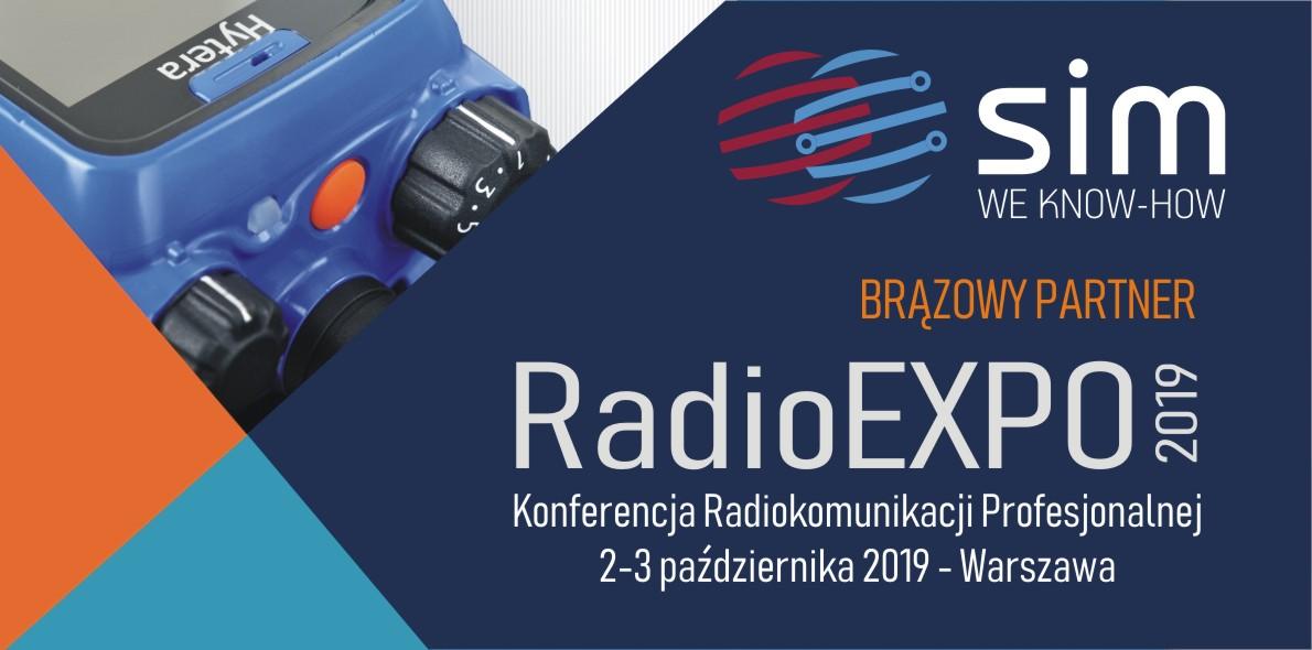 SIM brązowym partnerem Konferencji Radiokomunikacji Profesjonalnej RadioEXPO 2019